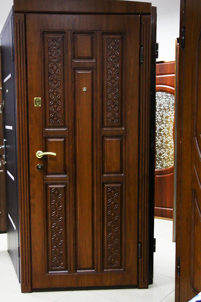 Входные двери с резьбой. Магазин VDim