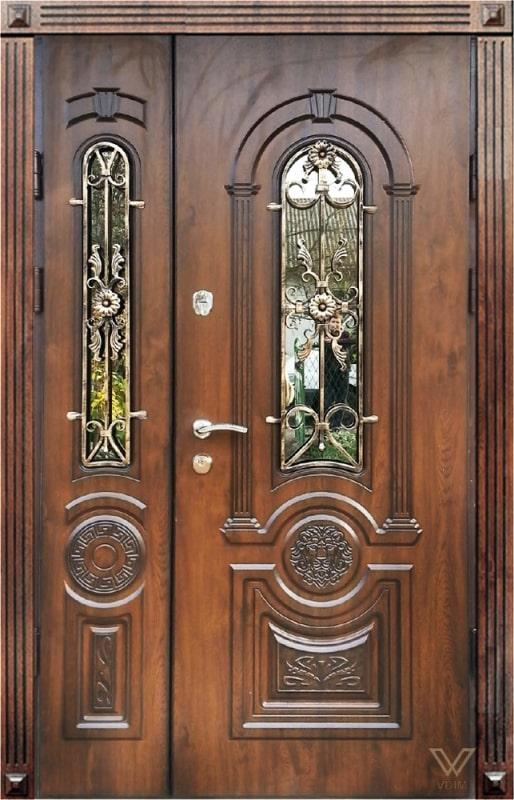 Двері вхідні, двополі